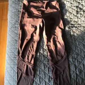 lululemon mesh leggings!